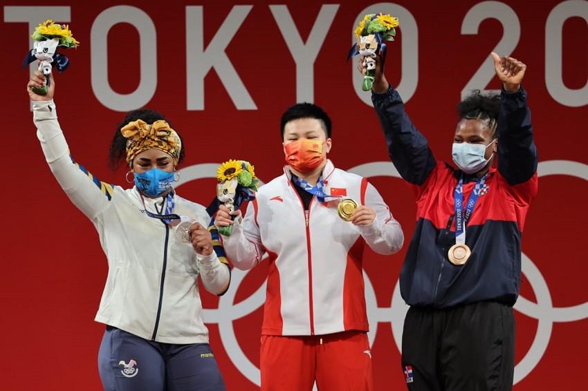 Tamara Salazar se inspira en Alexandra Escobar y Neisi Dajomes para cumplir sueño olímpico