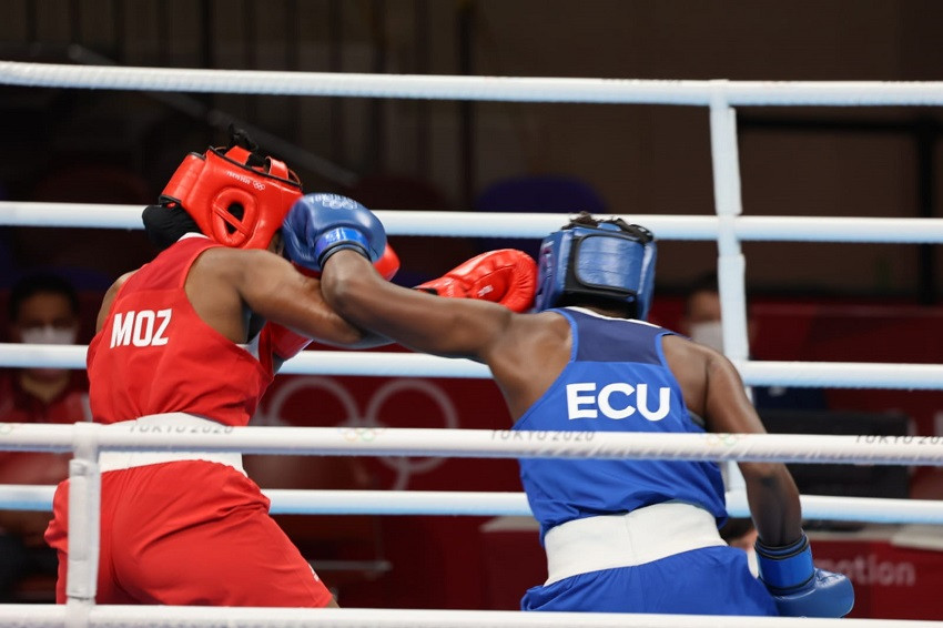 Ecuador se queda sin representantes en boxeo con la derrota de Érika Pachito