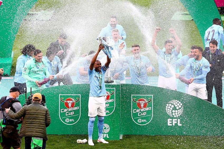 Manchester City vence al Tottenham y conquista la Copa de la Liga (Video)
