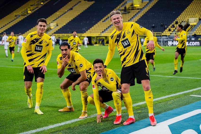 Presidente del Dortmund responde sobre Haaland