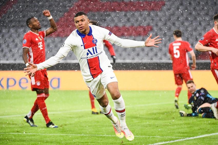 Mbappé golpea al Bayern y PSG da primer paso a semifinales (Video)