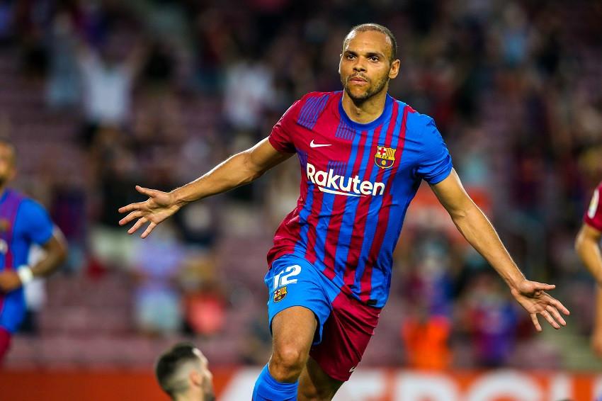El FC Barcelona pierde a Braithwaite varios meses por lesión