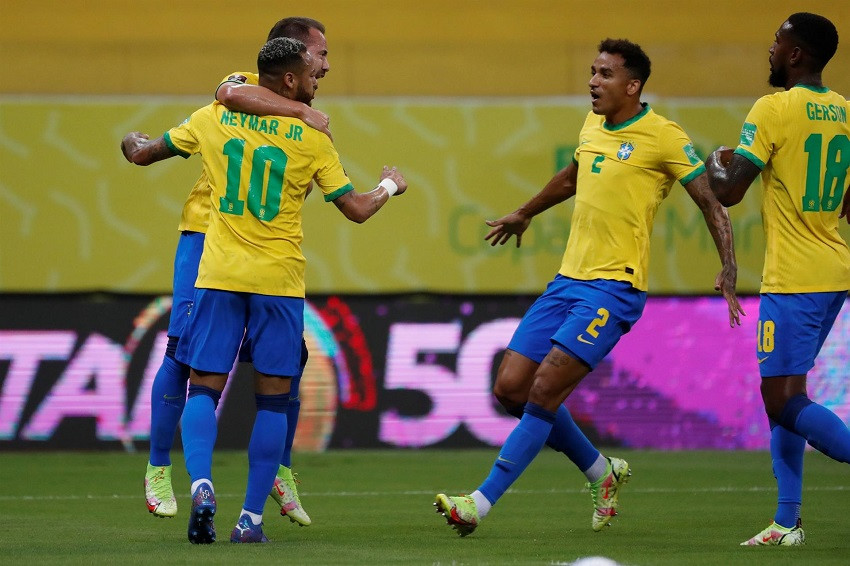 Brasil anuncia convocatoria para triple jornada de eliminatorias en octubre