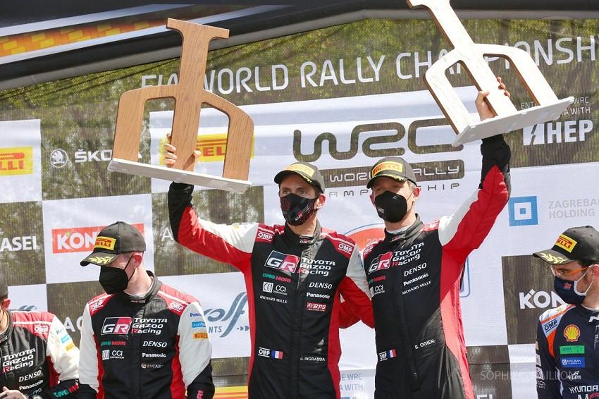 Sébastien Ogier gana el Rally de Croacia pese a accidente de tráfico (Video)