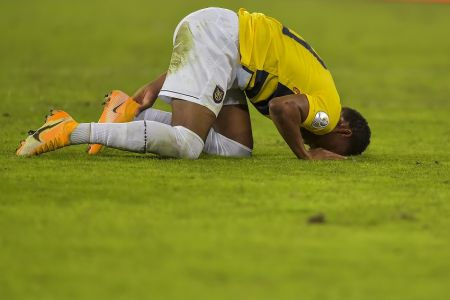 Ecuador, al borde de otro fracaso en Copa América