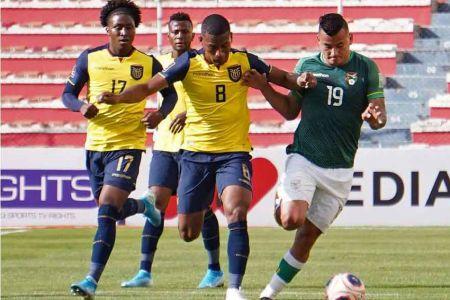 Bolivia, rival de Ecuador, anuncia nómina de 53 convocados para triple jornada
