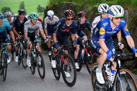 Carapaz conserva posición en el Tour de Suiza al cumplirse la cuarta etapa