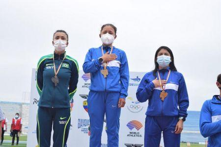 Glenda Morejón logra medalla de oro en Sudamericano de Atletismo en Guayaquil (Video)