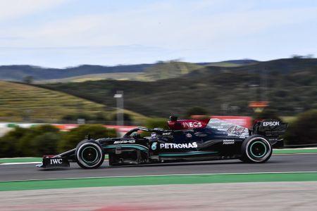 Hamilton marca el mejor tiempo en segunda práctica libre en Portugal