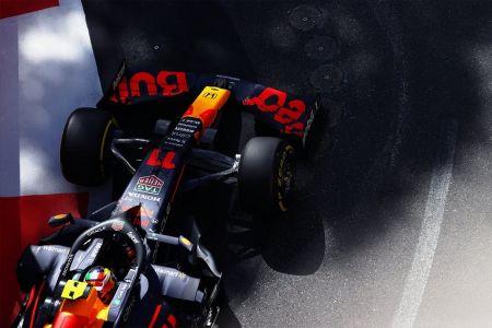 Sergio Pérez domina prácticas libres en Azerbaiyán, Mercedes con jornada adversa