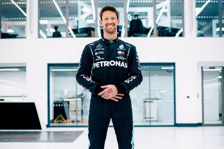Grosjean volverá a conducir un monoplaza de F1 luego de su accidente (Video)