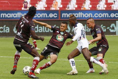 Mushuc Runa se lleva destacado empate contra Liga de Quito