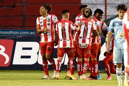 Técnico Universitario se recupera con goleada sobre Guayaquil City