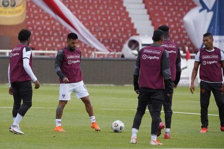 Kaprof, baja en Liga de Quito varias semanas por lesión