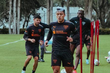 Liga de Quito regresa a los entrenamientos sin Repetto