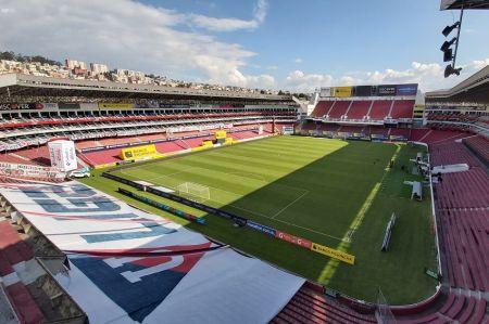 Partidos de LigaPro en Quito se disputarán con 30% de aforo