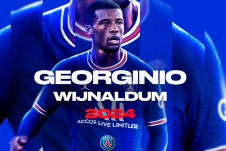 PSG confirma la contratación de Georginio Wijnaldum (Video)