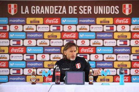 Gareca asume responsabilidad por mal momento de Perú y apunta a la recuperación contra Ecuador