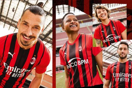 PUMA y el AC Milan presentan el nuevo uniforme para celebrar el Milán moderno