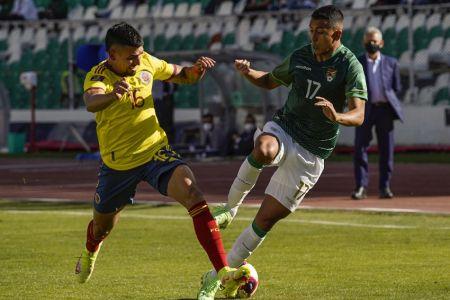 Bolivia rescata el empate sobre el final contra Colombia (Video)