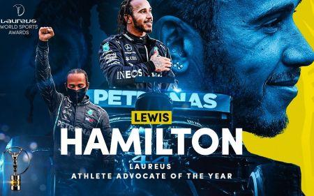 Lewis Hamilton y Naomi Osaka conquistan el premio Laureus como mejores deportistas de 2020 (Video)