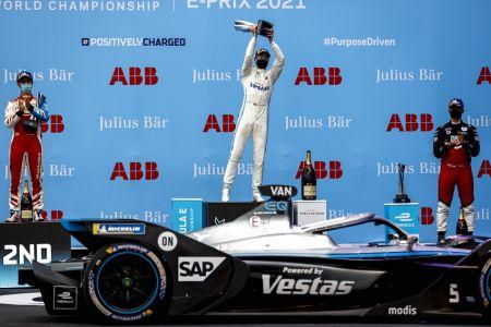 Vandoorne se recupera y conquista la segunda carrera en Roma de Fórmula E (Video)