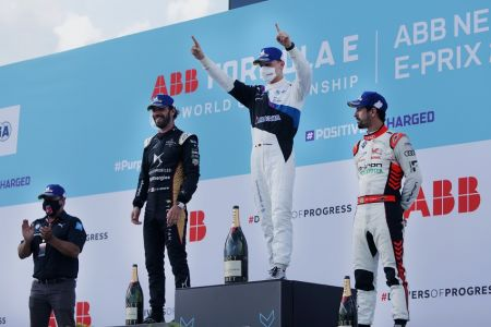 Gunther logra el primer triunfo del fin de semana de la Fórmula E en Nueva York