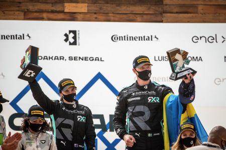 El Rosberg X Racing vuelve a ganar en Extreme E pese a un incidente con el X44 en Dakar