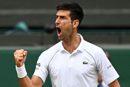 Djokovic doblega a Shapovalov y jugará su séptima final en Wimbledon