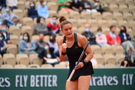 Sakkari y Krejcikova completan un cuadro de semifinales inédito en Roland Garros