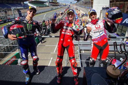 El australiano Jack Miller domina bajo la lluvia en el Gran Premio de Francia de MotoGP