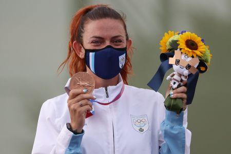 Alessandra Perilli conquista la primera medalla en la historia de San Marino